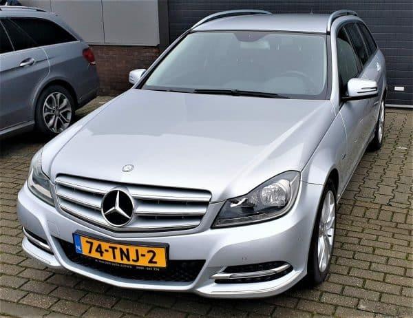 Mercedes-Benz C 180 CDI Estate Avantgarde Blue Efficiency 2012